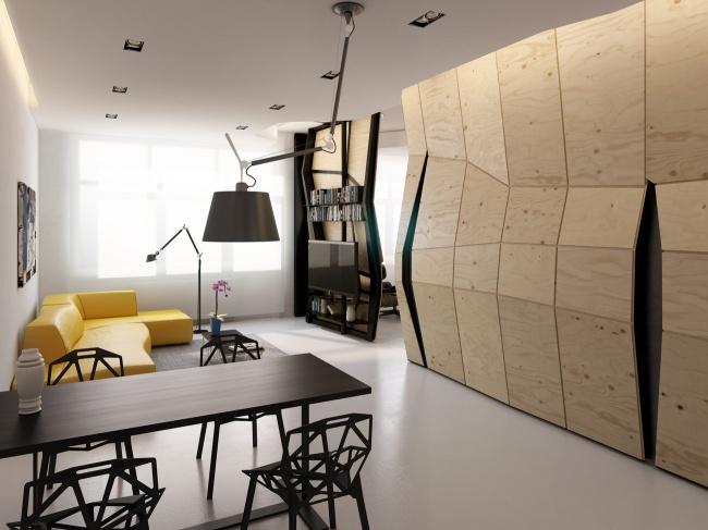 концепція квартири-трансформера