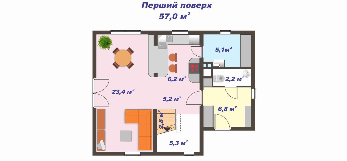 будинок під замовлення план